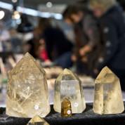 Stuttgarter Messeherbst 2014 Mineralien und Fossilien