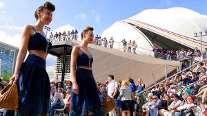 Bundesländertage Niedersachsen - Modenschau vor dem Deutschen Pavillon auf der EXPO MILANO 2015 © expo2015germany/flickr