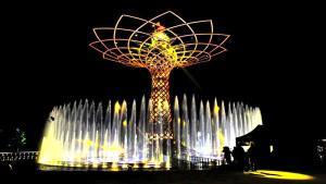 """EXPO 2015: Feierliche Vorstellung des """"Tree of Live"""" bei der Eröffnungsfeier am 30. April 2015 ©lovewood.cz"""
