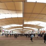 EXPO 2015: Decumanus – die Hauptachse der Weltausstellung  / © Thomas Schriefers
