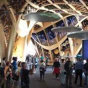 EXPO 2015: Das Innere des Pavillons von Frankreich / © Thomas Schriefers
