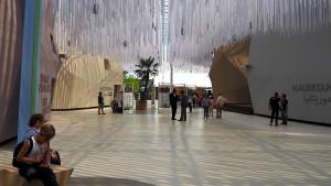 EXPO 2015: Innenhof zwischen den Pavillons der Ariden Zone / © Thomas Schriefers