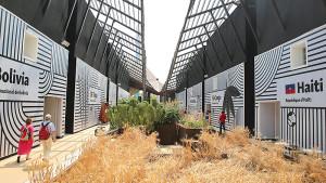 EXPO 2015 - Clusters: Getreide & Knollen - Das eine reift, das andere verdorrt / © Stefan Dömelt/comrhein