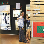 EXPO 2015: Clusters - Inseln, Meer & Nahrungsmittel - Die Malediven wissen, wie man Touristen anspricht / © Stefan Dömelt/comrhein