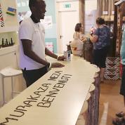 EXPO 2015 - Clusters: Kaffee - Herzlich willkommen in Ruanda / © Stefan Dömelt/comrhein