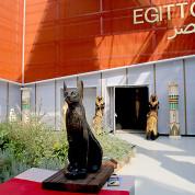 EXPO 2015 - Clusters: Mediterraneum - Ägypten spielt mit Klischees - wie sehr viele andere Nationen auf der Expo auch / © Stefan Dömelt/comrhein