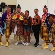 EXPO 2015: Traditionelles japanisches Theater mit Besuchern auf der Expo/ Foto: © AUMA