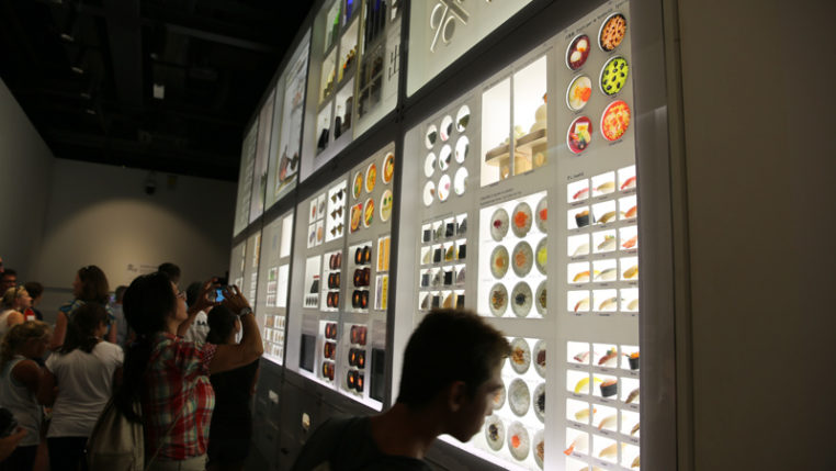 EXPO 2015: Sushi im Schrank - Japan-Pavillon/ Foto: © AUMA