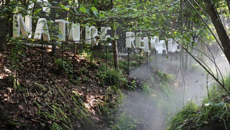 EXPO 2015: Natur inszeniert sich selbst im Österreich-Pavillon/ Foto: © Stefan Dömelt/comrhein