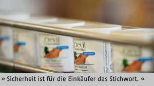 Made in Germany ist der Stempel, der genau diese Sicherheit verspricht - Crevil Cosmetics, München
