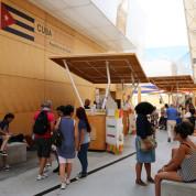 Cluster-Beteiligungen im Cluster Kaffee. EXPO Milano 2015: Cuba und Costa Rica. Foto: © Stefan Dömelt/comrhein
