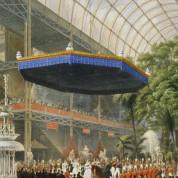 Eröffnung der ersten Weltausstellung im Kristallpalast in London. - Bild: Gemeinfrei über Wikimedia Commons
