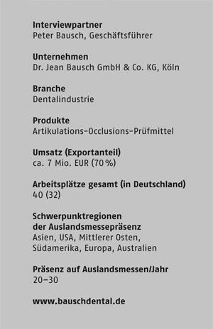 Dr. Jean Bausch GmbH, Köln