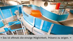"""""""Alle fliegen auf deutsche Präzision"""" - Guido Vaupel, Leiter Marketing der TRANSNORM SYSTEM GmbH, Harsum"""