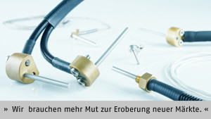 """""""Wir brauchen mehr Mut zur Eroberung neuer Märkte. Und um den aufbringen zu können, sind die German Pavilions auch in neuen Märkten gefragt"""", betont Andreas Becker, EPHY-MESS GmbH, Wiesbaden."""