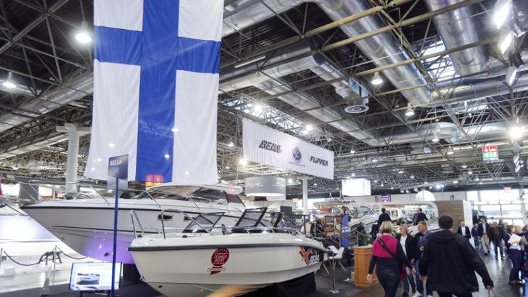 Finnland-Pavillon auf der Boot 2016 in Düsseldorf - Foto: Messe Düsseldorf / ctillmann