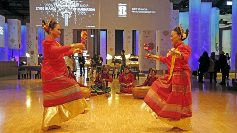 Gastland Indonesien auf der Frankfurter Buchmesse - Foto: Alexander Heimann / Frankfurter Buchmesse