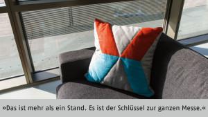 """""""Messen sind mehr als nur Verkaufsplattformen"""", betont Frank Zahn, CEO von Exozet Berlin GmbH."""