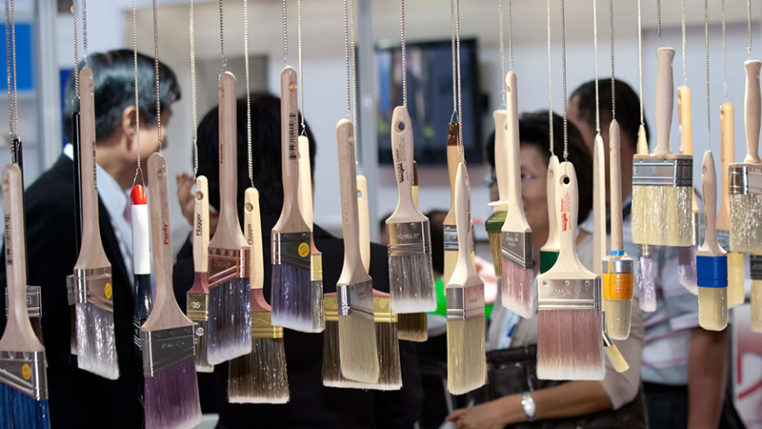 INTERBRUSH – Die weltweit führende Fachmesse für Maschinen, Material und Zubehör der Bürsten-, Pinsel-, Farbroller- und Mopindustrie - Messe Freiburg
