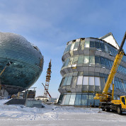 EXPO Astana 2017: Baustand Ende Dezember 2016