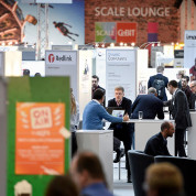 SCALE 11: der Start-up-Bereich in Halle 11 auf der CeBIT/Deutsche Messe AG