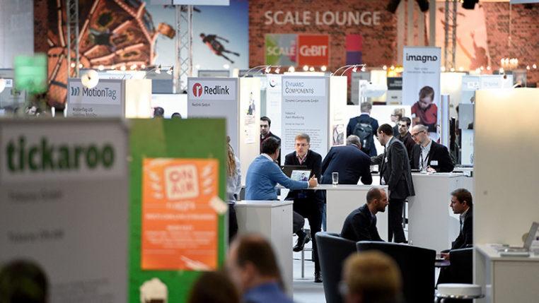SCALE 11: der Start-up-Bereich in Halle 11 auf der CeBIT/Deutsche Messe AG