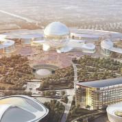 Master-Plan der EXPO Astana