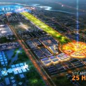 Grüne Achse von der Altstadt zur EXPO Site in Astana