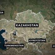 Geografische Lage von Kasachstan