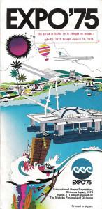 Frühere Expos konzentrierten sich stärker auf die Bedeutung des Elementes Wasser für unsere Welt, z.B. International Ocean Exposition Okinawa, Japan 1975.