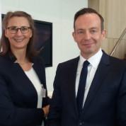 Mittelstandstag Rheinland-Pfalz 2017, mit Wirtschaftsminister Dr. Volker Wissing und Kerstin Scheffler, AUMA