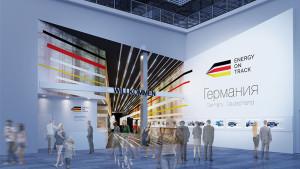 EXPO 2017: Kurz hinter dem Eingang zum Deutschen Pavillon präsentieren sich die deutschen Bundesländer / © insglück, gtp2, mac