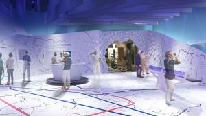 EXPO 2017: Karte der Zukunft im Deutschen Pavillon – Infotainment mit Smartstick  / © insglück, gtp2, mac