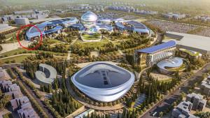 "EXPO 2017: Hier finden die Besucher den Deutschen Pavillon / © National company ""Astana EXPO-2017"""