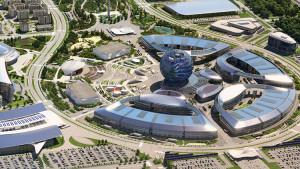 EXPO 2017 – Das Gelände der Weltausstellung mit dem Pavillon des Gastgebers Kasachstan / © Kholdarbekov Mukhtar, Kazinform