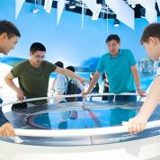 """EXPO 2017 – Anfassen und erleben, das steht im Mittelpunkt der """"Karte der Zukunft"""" / © Deutscher Pavillon/HMC"""