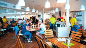 EXPO 2017 – Das Restaurant im Deutschen Pavillon erfreut sich großer Beliebtheit / © Deutscher Pavillon/HMC