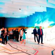 """EXPO 2017 – Die Erlebnislandschaft """"Karte der Zukunft"""" / © Deutscher Pavillon/HMC"""