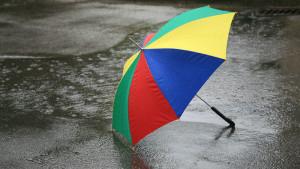 Ein Regenschirm war in meiner ersten Woche in Dublin ein wichtiges Accessoire. - Foto: RainerSturm  / pixelio.de