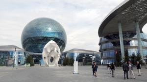 EXPO2017: Kasachstan – Kugel-Skulptur als zentrales Gebäude