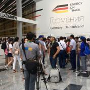 EXPO 2017:  Deutschland – Eingang. Foto: AUMA