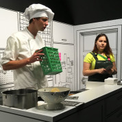 EXPO 2017: Schweizer Pavillon – nachhaltiges Kochen. Foto: AUMA