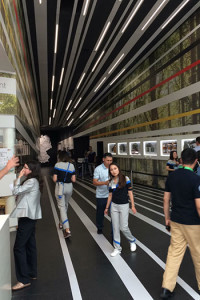 EXPO2017: Deutscher Pavillon – Eingang - Foto: © Schriefers