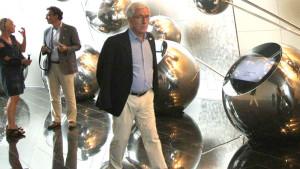 Auf der EXPO in Astana: Dieter A. Heinz, GATE. Foto: Anja Hiss