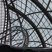 EXPO 2017: Blick in die Kugel - Kasachstan-Pavillon. Foto: Christian Papert