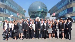 EXPO 2017: AUMA-Delegation auf der Weltausstellung in Astana. Foto: AUMA