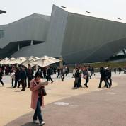 """Der Deutsche Pavillon """"Balancity – Stadt im Gleichgewicht"""" auf der EXPO 2010 in Shanghai - Foto: AUMA"""