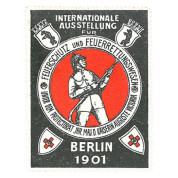 Internationale Ausstellung für Feuerschutz und Feuerrettungswesen, Berlin 1901
