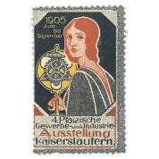 Pfälzische Gewerbe- und Industrie-Ausstellung, Kaiserslautern 1905
