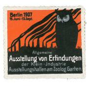 Allgemeine Ausstellung von Erfindungen der Klein-Industrie, Berlin 1907